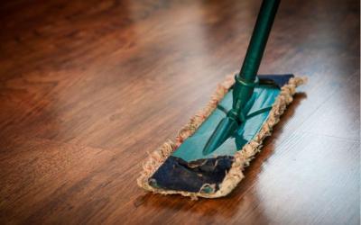 Nettoyage parquet